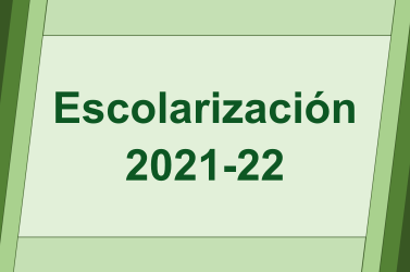 Escolarización 2021-22: calendario